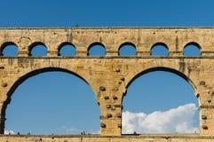 Pont du Gard in Provence, France Stock Images