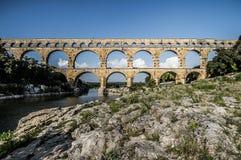 Pont du Gard in Provence, France Stock Image