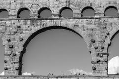 Pont du Gard in Provence, France Royalty Free Stock Photos