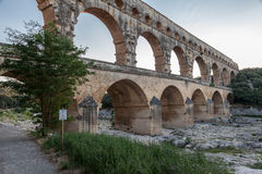 Pont du Gard Provence Stock Photos
