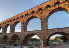 Pont du Gard Provence Royalty Free Stock Images