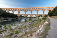 Pont du Gard Provence Royalty Free Stock Photography