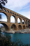 The Pont du Gard Stock Photo
