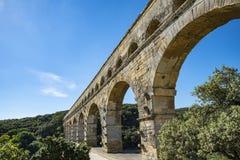 Pont du Garde (Frances) photo libre de droits