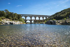 Pont du Garde (Frances) image libre de droits