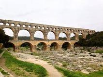 Pont du Gart Image stock