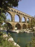 Pont du le Gard Photo libre de droits
