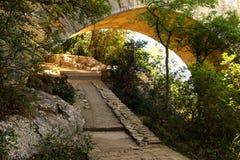 Pont du le Gard Image libre de droits