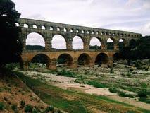 Pont du le Gard Image stock