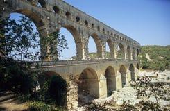 Pont du le Gard Photographie stock libre de droits