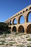 Pont du le Gard France image libre de droits