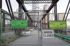 Pont du nord d'avenue dans le stasis Photographie stock