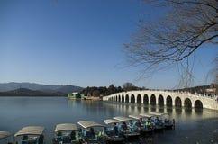 Pont du palais d'été Photo stock