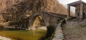 Pont du ` s de diable Image stock