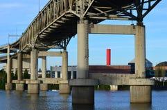 Pont du sud de bord de mer - Portland du sud Images stock
