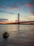 Pont du sud. Kiev. Photos libres de droits