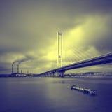 Pont du sud. L'Ukraine. Kiev. Photographie stock