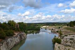 Pont du vakt, Frankrike Arkivbilder