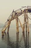 Pont effondré de lundi Images libres de droits