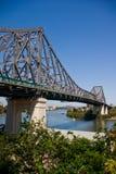 Pont en étage (pont en route) Images libres de droits