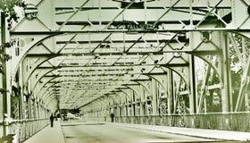Pont en acier à Philadelphie Photos libres de droits