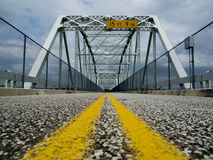 Pont en acier de Barnett Photos stock
