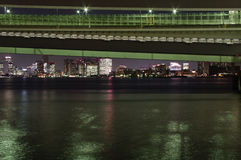 Pont en arc-en-ciel Image libre de droits