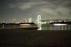 Pont en arc-en-ciel Photographie stock libre de droits