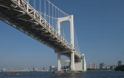 Pont en arc-en-ciel Images stock