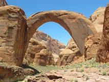 Pont en arc-en-ciel dans le monument national de pont en arc-en-ciel images stock