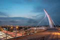 Pont en arc-en-ciel dans Taiwan Images libres de droits