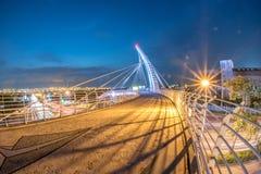 Pont en arc-en-ciel dans Taiwan Photographie stock libre de droits