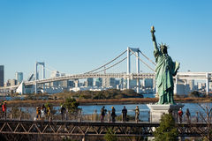 Pont en arc-en-ciel, Tokyo - Japon images stock