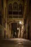Pont en Barri Gotic Image libre de droits