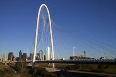 Pont en côte de chasse à Margaret - Dallas le Texas Images stock