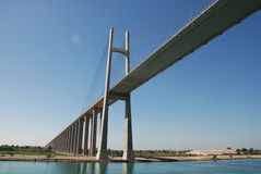 Pont en canal de Suez Photo libre de droits