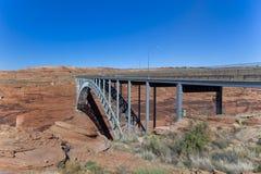 Pont en canyon de gorge Image stock