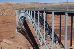 Pont en canyon de gorge Images stock