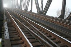 Pont en chemin de fer Photographie stock libre de droits