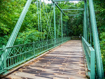 Pont en chemin de fer de mine de Hibernia Photos stock