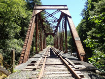 Pont en chevalet Image stock