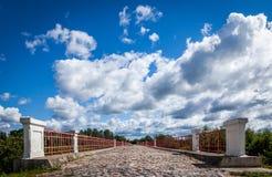 Pont en ciel Photographie stock libre de droits