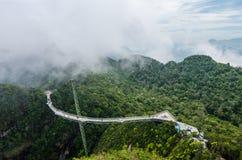 Pont en ciel de Langkawi Image stock