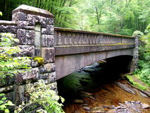 Pont en ciment Image libre de droits