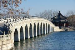 pont en Dix-sept-trou Images libres de droits