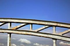 Pont en fer Images stock