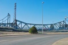 Pont en fer Photo stock
