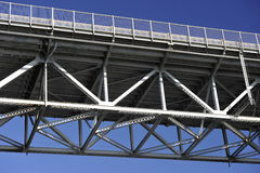 Pont en fer Image stock