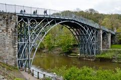 Pont en fer de Telford photo stock