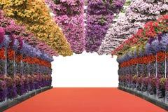 Pont en fleurs Image libre de droits